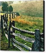 Sunrise Meadow - Blue Ridge Parkway II Canvas Print by Dan Carmichael