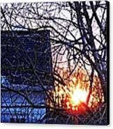 Sunrise Next Door Canvas Print