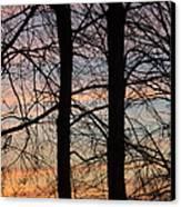 Sunrise Of Lake Huron Canvas Print by Rhonda Humphreys