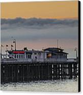 Sunrise On The Bay Canvas Print by Bruce Frye