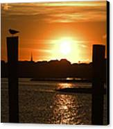 Sunrise Over Topsail Island Canvas Print by Mike McGlothlen