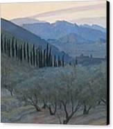 Sunrise Umbria 1914 Canvas Print