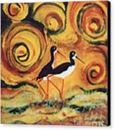 Sunset Ballet Canvas Print