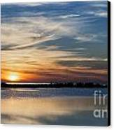 Sunset In The South Canvas Print