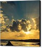 Sunset Over The Ocean Iv Canvas Print