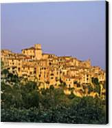 Sunset Over Vieux Nice - Old Town - France Canvas Print by Christine Till
