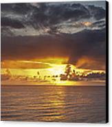 Sunset Panorama Canvas Print by Andrew Soundarajan
