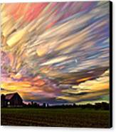 Sunset Spectrum Canvas Print