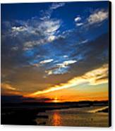 Sunset  Canvas Print by Tim Buisman