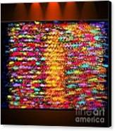 Sunshine Magic - Abstract Oil Painting Original Metallic Gold Textured Modern Contemporary Art Canvas Print