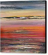 Sunst Series Hauxley Haven Canvas Print