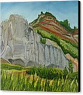 Suntrana Sandstone Canvas Print by Amy Reisland-Speer