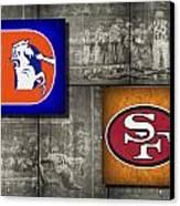 Super Bowl 24 Canvas Print