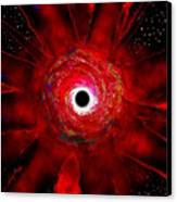 Super Massive Black Hole Canvas Print