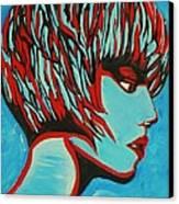 Super Mod 16 Canvas Print by Michael Henzel