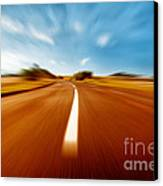 Super Speed Road Canvas Print by Boon Mee