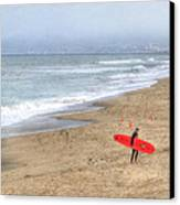 Surfer Boy Canvas Print by Juli Scalzi