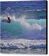 Surfer Girl 1 Canvas Print by Heng Tan