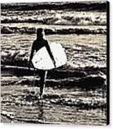 Surfer Girl Canvas Print by Scott Allison