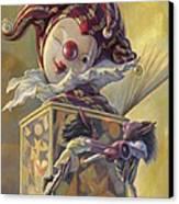 Surprise Canvas Print by Leonard Filgate