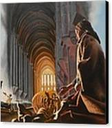 Surreal Cathedral Canvas Print