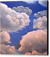 Surreal Cloud One Canvas Print by Paula Marsh
