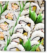 Sushi Platter Canvas Print by Elena Elisseeva