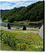 Sutton Dam Canvas Print