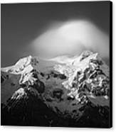 Svinafell Mountains Canvas Print by Dave Bowman