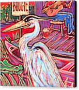 Swamp Boogie Canvas Print by Robert Ponzio