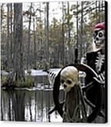 Swamp Pirate Canvas Print
