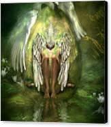 Swan Goddess Canvas Print