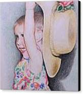 Sweet Caroline Canvas Print by Kathy Weidner