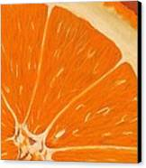 Sweet Orange Canvas Print