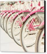 Sweet Rides Canvas Print by Amy Tyler
