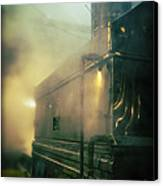Sweet Steam Canvas Print by Edward Fielding