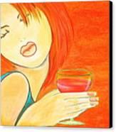 Sweet Tarte Canvas Print by Debi Starr