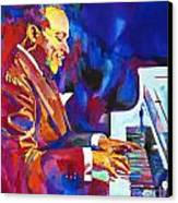 Swinging With Count Basie Canvas Print