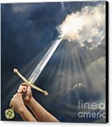 Sword Of The Spirit Canvas Print by Tamer and Cindy Elsharouni