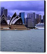Sydney Canvas Print by DerekTXFactor Creative