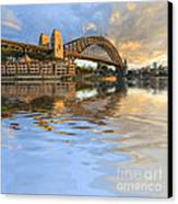 Sydney Harbour Bridge Australia Spectacular Early Morning Light Canvas Print