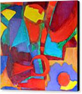 Syncopated Canvas Print by Diane Fine