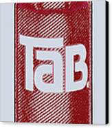Tab Ode To Andy Warhol Canvas Print by Tony Rubino