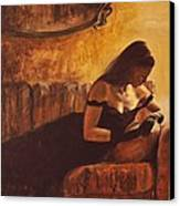 Tacere Canvas Print