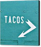 Tacos Canvas Print by Art Block Collections