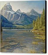 Taggart Lake Shallows Canvas Print