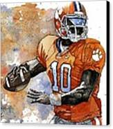 Tahj Boyd Canvas Print by Michael  Pattison