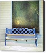 Take A Seat Canvas Print by Priska Wettstein