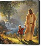 Take My Hand Canvas Print by Greg Olsen