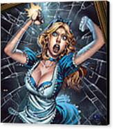 Tales From Wonderland Alice  Canvas Print